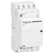 Модульний контактор Schneider Electric iCT (Acti9) 25A 4НВ 220/240В міні-фото