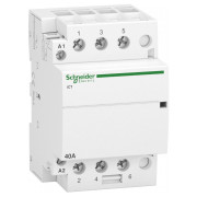 Модульний контактор Schneider Electric iCT (Acti9) 40A 3НВ 220/240В міні-фото