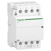 Модульний контактор Schneider Electric iCT (Acti9) 40A 4НВ 220/240В міні-фото