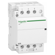 Модульний контактор Schneider Electric iCT (Acti9) 63A 3НВ 220/240В міні-фото