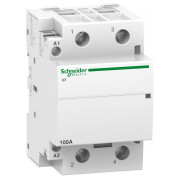Модульний контактор Schneider Electric iCT (Acti9) 100A 2НВ 220/240В міні-фото
