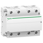 Модульний контактор Schneider Electric iCT (Acti9) 100A 4НВ 220/240В міні-фото