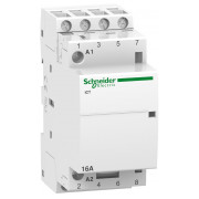 Модульний контактор Schneider Electric iCT (Acti9) 16A 4НВ 220/240В міні-фото